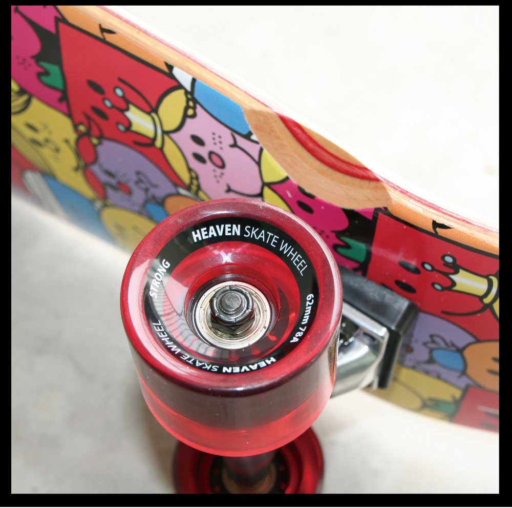 MR.MEN 【お取り寄せ】HEAVEN SKATEBOARD Smiling Cruiser 28x8  MM