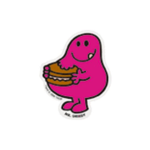 MR.MEN MLS-02 ミニステッカー MR.GREEDY MM}>