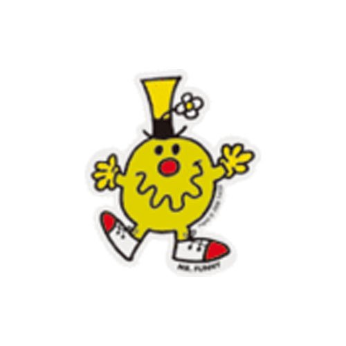 MR.MEN MLS-08 ミニステッカー MR.FUNNY MM}>