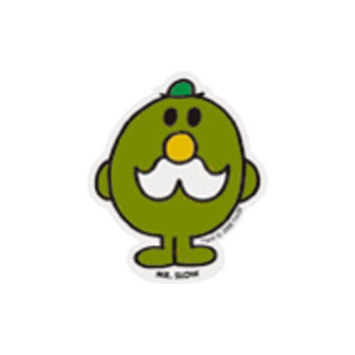 MR.MEN MLS-10 ミニステッカー MR.SLOW MM}>