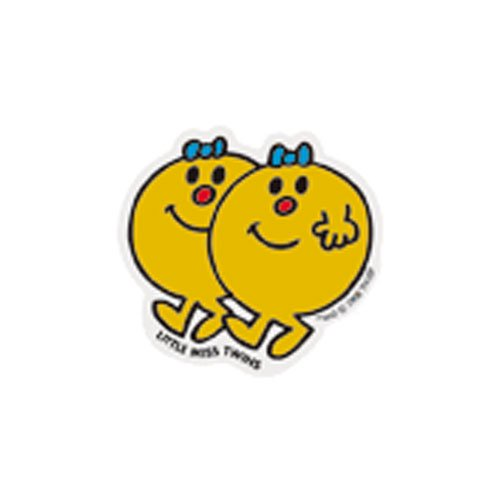 MR.MEN MLS-16 ミニステッカー LITTLE MISS.TWINS MM}>