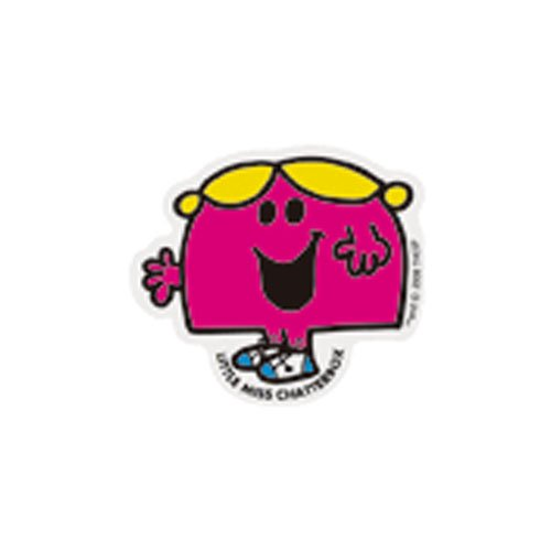 MR.MEN MLS-17 ミニステッカー LITTLE MISS.CHATTERBOX MM