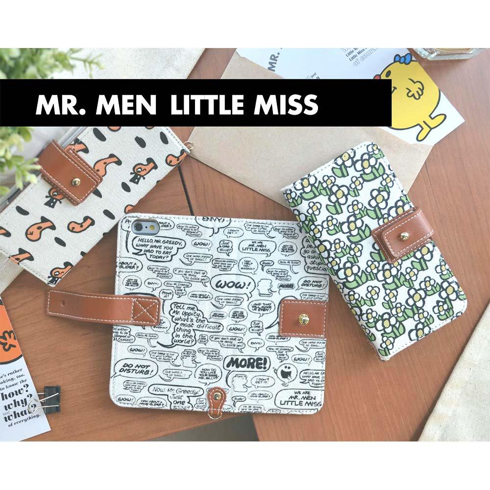 MR.MEN iPhone7対応フリップケース(ハッピー) MML-56A MM