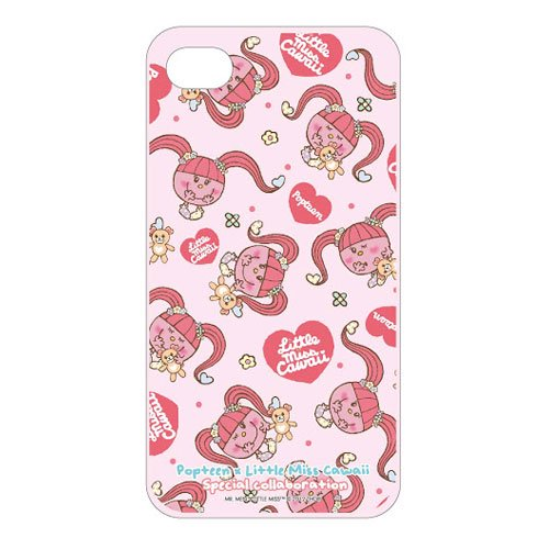 MR.MEN 【生産終了品】Popteen×Little Miss Cawaii iPhone4Sジャケット(ピンク) MM}>