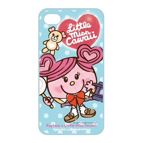 MR.MEN 【生産終了品】Popteen×Little Miss Cawaii iPhone4Sジャケット(ブルー) MM}>