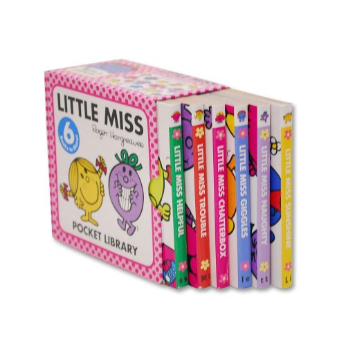 MR.MEN 【英語のえほん】Little Miss Pocket Library  MM}>