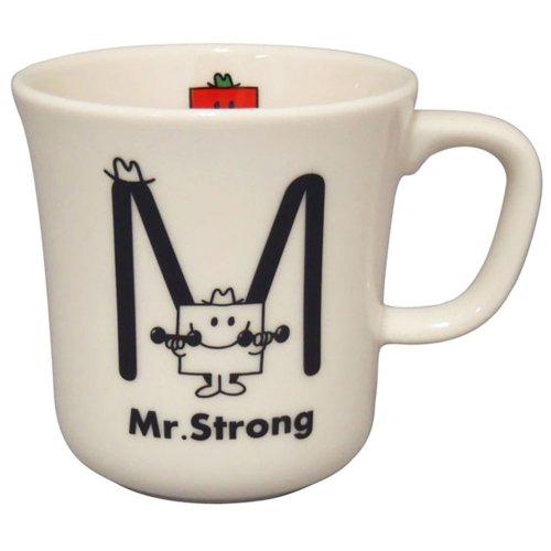 MrMen 【生産終了品】イニシャルマグ(M) MR100-11M MM