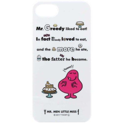 MR.MEN iPhone7対応ハードケース(ミスター・グリーディ) MML-58B MM}>