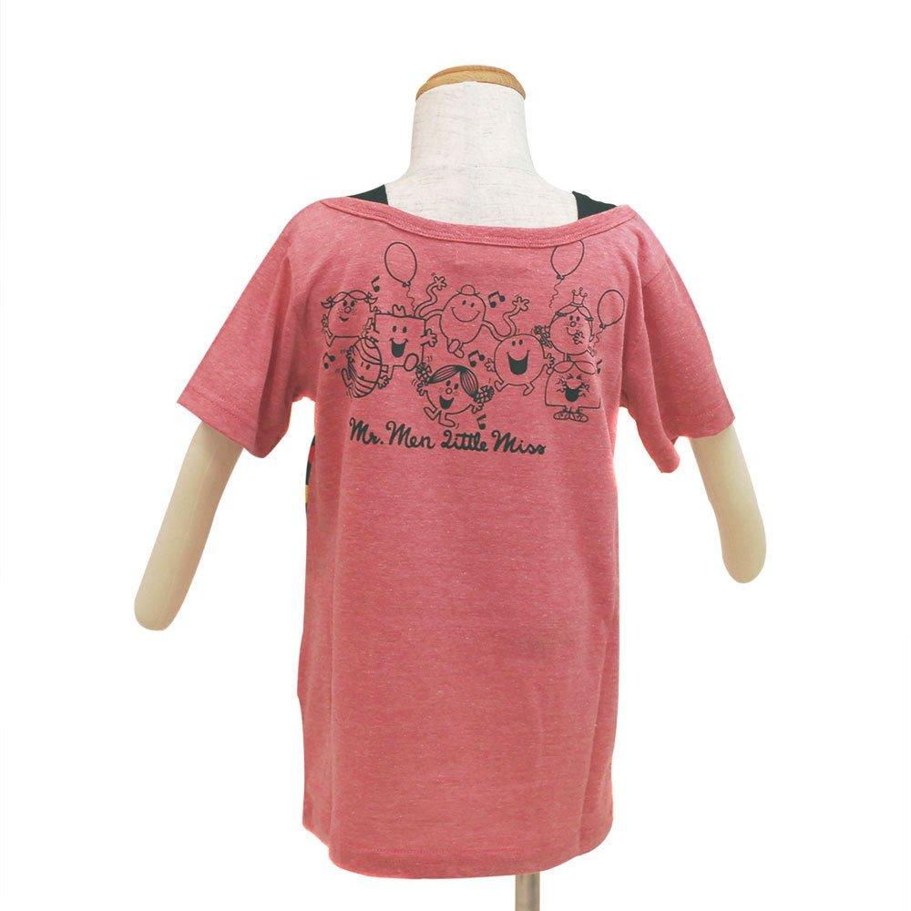 MR.MEN キッズフェイクTシャツ(ピンク)100 642MR0041 MM