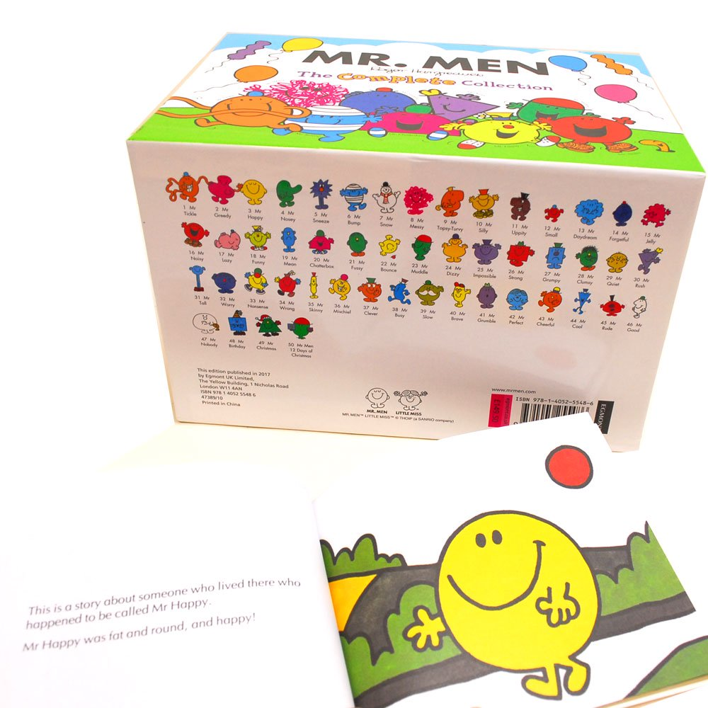 MR.MEN 【英語の絵本】Mr Men The Complete Collection 50 Books  MM