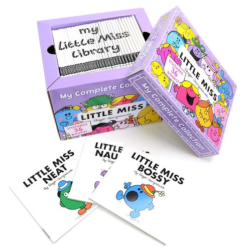 MR.MEN 【英語のえほん】Little Miss My Complete Collection Box Set  MM}>