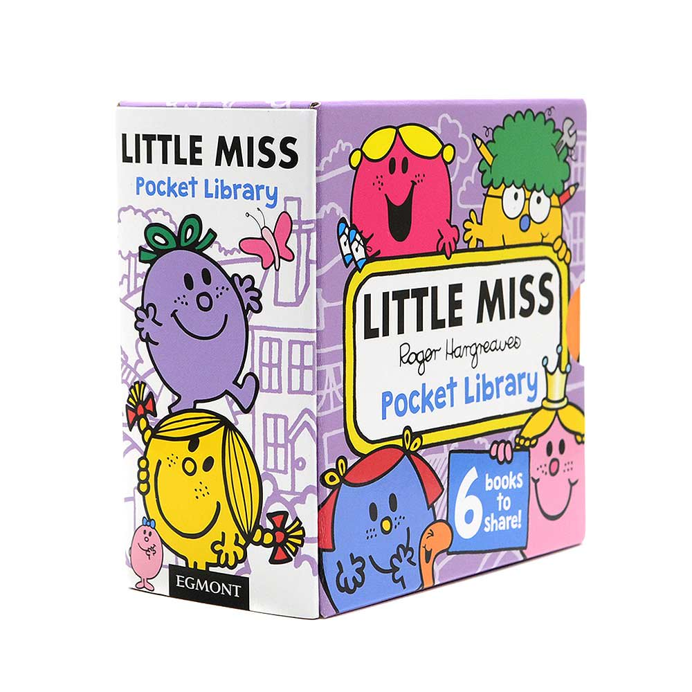MR.MEN 【英語のえほん】Little Miss Pocket Library MM