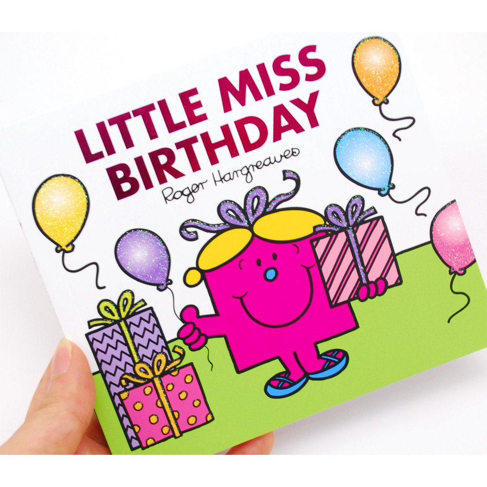 MR.MEN 【英語のえほん】Little Miss Birthday  MM