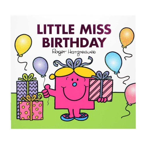MR.MEN 【英語のえほん】Little Miss Birthday  MM}>