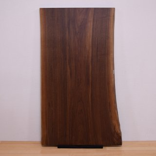 <span class='ic02'>設置無料</span>一枚板 ブラックウォルナット 【特選】 <ウレタン塗装> ita-15872-walnut