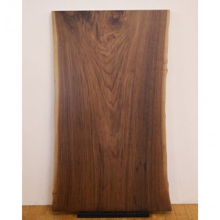 <span class='ic02'>設置無料</span>一枚板 ブラックウォルナット 【特選】 <ウレタン塗装> ita-15757-walnut