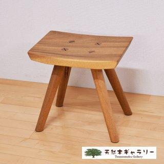 <span class='ic03'>送料無料</span>一枚板 楽ちんスツール モンキーポッド stool-monki-12050-ki