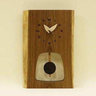 木の時計 『森の振り子時計』 M エンジュ クォーツ clock-mm-203