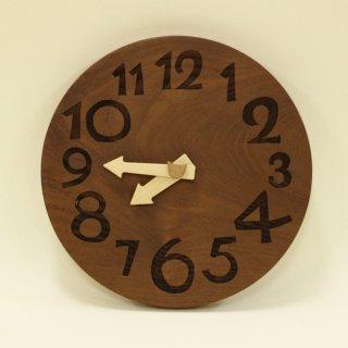木の時計「nami(なみ)」 桑(くわ) クォーツ clock-n-27