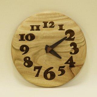 木の時計「nori nori」 楠(くす) クォーツ clock-no-26
