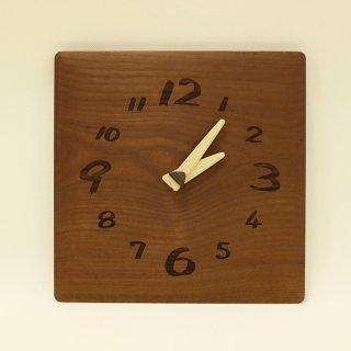木の時計「ozabu(おざぶ)」 桑(くわ) クォーツ clock-oz-01