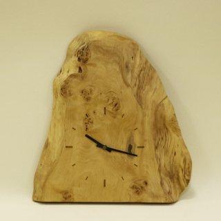 木の時計「天然木のとけい」 樺(かば) クォーツ clock-sk-01