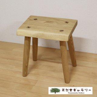 <span class='ic03'>送料無料</span>一枚板 スツール(飾り台) 栗(くり) stool-kuri-ku02