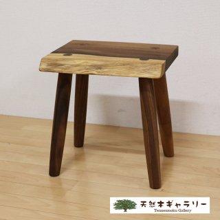 <span class='ic03'>送料無料</span>一枚板 スツール(飾り台) モンキーポッド stool-monki-m01