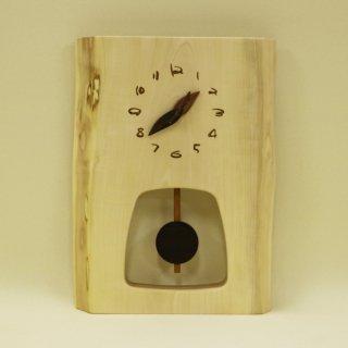 木の時計 『森の振り子時計』 M 栃 クォーツ clock-mm-331