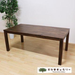 <span class='ic02'>設置無料</span>天然木ダイニングテーブル ウォルナット集成材<ウレタン塗装> d-table-walnut180-oz