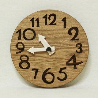 木の時計「conma(コンマ)」 槐(えんじゅ) クォーツ clock-c-33 【売約済み!】