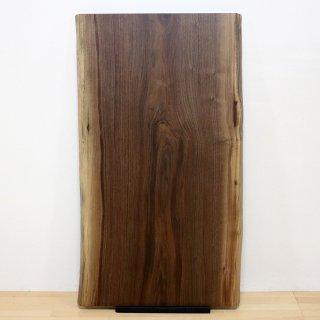 <span class='ic02'>設置無料</span>一枚板 ブラックウォルナット 【特選】 <ウレタン塗装> ita-16639-walnut