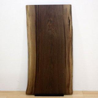 <span class='ic02'>設置無料</span>一枚板 ブラックウォルナット 【特選】 <ウレタン塗装> ita-16649-walnut