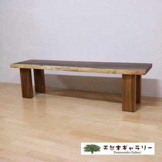 <span class='ic02'>設置無料</span>【一枚板ベンチ1515】 一枚板モンキーポッド 4本脚付 <ウレタン塗装> bench-16449-monki