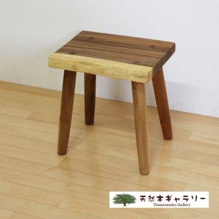 <span class='ic01'>NEW</span>一枚板 スツール(飾り台) モンキーポッド stool-monki-m13