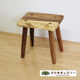 <span class='ic01'>NEW</span>一枚板 スツール(飾り台) モンキーポッド stool-monki-m14