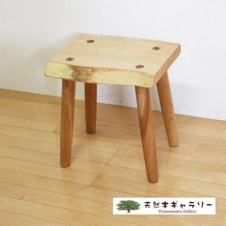 <span class='ic03'>送料無料</span>一枚板 スツール(飾り台) 栃 stool-tochi-tc02