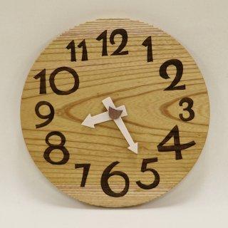 <span class='ic01'>NEW</span>木の時計「DECCA(デッカ)」 ケヤキ  (欅)  クォーツ clock-d-54-keyaki
