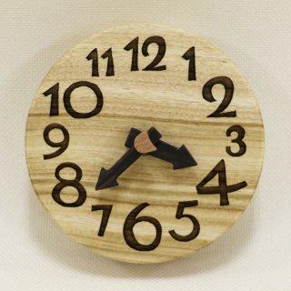 <span class='ic01'>NEW</span>木の時計『手のひらconma』楠 (くす)  クォーツ clock-tc-71