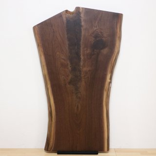 <span class='ic02'>設置無料</span>一枚板 ブラックウォルナット 【特選】 <ウレタン塗装> ita-16777-walnut