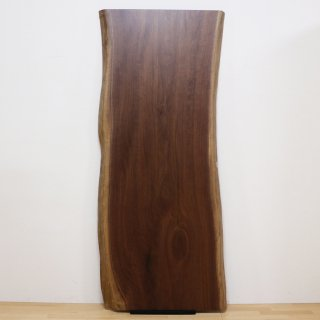 <span class='ic02'>設置無料</span>一枚板 ブラックウォルナット【特選】<ウレタン塗装> ita-16778-walnut