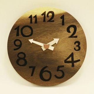 <span class='ic01'>NEW</span>木の時計「DECCA(デッカ)」 モンキーポッド クォーツ clock-d-46-monki