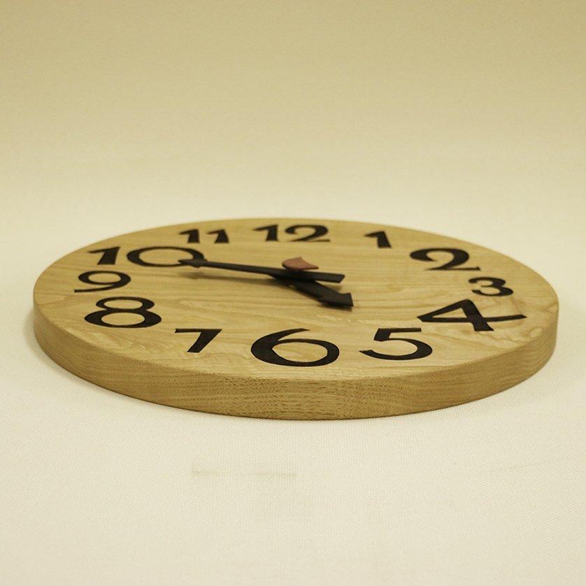 <img class='new_mark_img1' src='https://img.shop-pro.jp/img/new/icons3.gif' style='border:none;display:inline;margin:0px;padding:0px;width:auto;' />木の時計「DECCA(デッカ)」 栗(くり) クォーツ clock-d-10-kuri