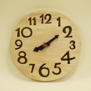 <span class='ic01'>NEW</span>木の時計「DECCA(デッカ)」 栃(とち) クォーツ clock-d-01-toti
