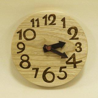 <span class='ic01'>NEW</span>木の時計「conma(コンマ)」 栓(せん) クォーツ clock-c-77-sen