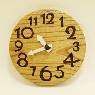 <span class='ic01'>NEW</span>木の時計「nami(なみ)」 欅(けやき) クォーツ clock-n-19-keyaki