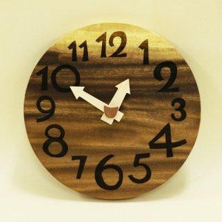 <span class='ic01'>NEW</span>木の時計「nami(なみ)」 モンキーポッド クォーツ clock-n-01
