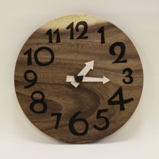 <span class='ic03'>送料無料</span>木の時計「DECCA(デッカ)」 モンキーポッド クォーツ clock-d-41-monki