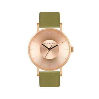 VOLARE IRIS 2016 VO16IR024W 36MM ROSE GOLD / OLIVE