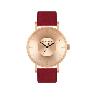 VOLARE IRIS 2016 VO16IR028W 36MM ROSE GOLD / DARK RED